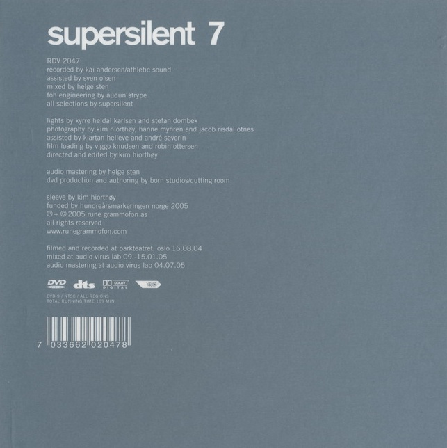 Supersilent — 7