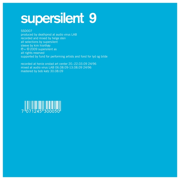 Supersilent — 9
