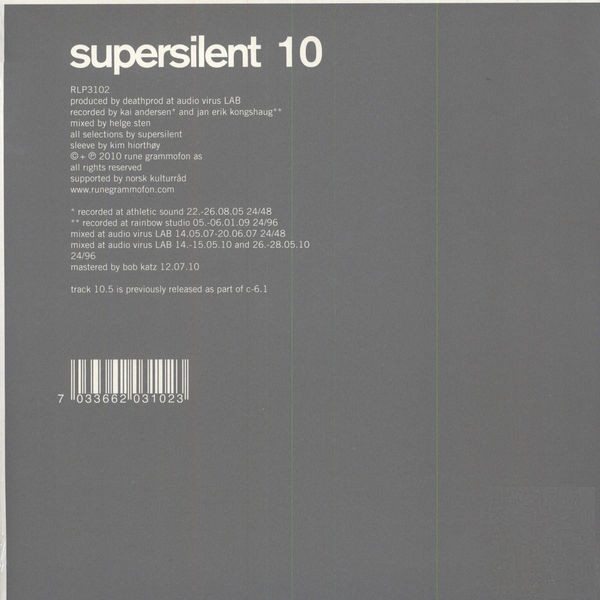 Supersilent — 10
