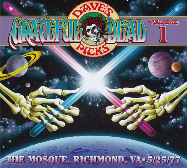 Grateful Dead — Dave's Picks – Volume 1: The Mosque, Richmond, VA 5/25/77