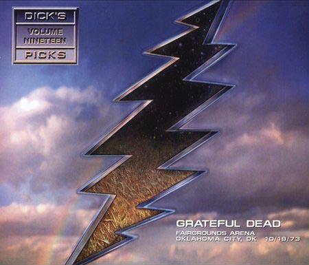 Dick's Picks Volume Nineteen: Fairgrounds Arena, Oklahoma City, OK, 10/19/73  Cover art
