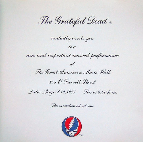 Grateful Dead — One From The Vault