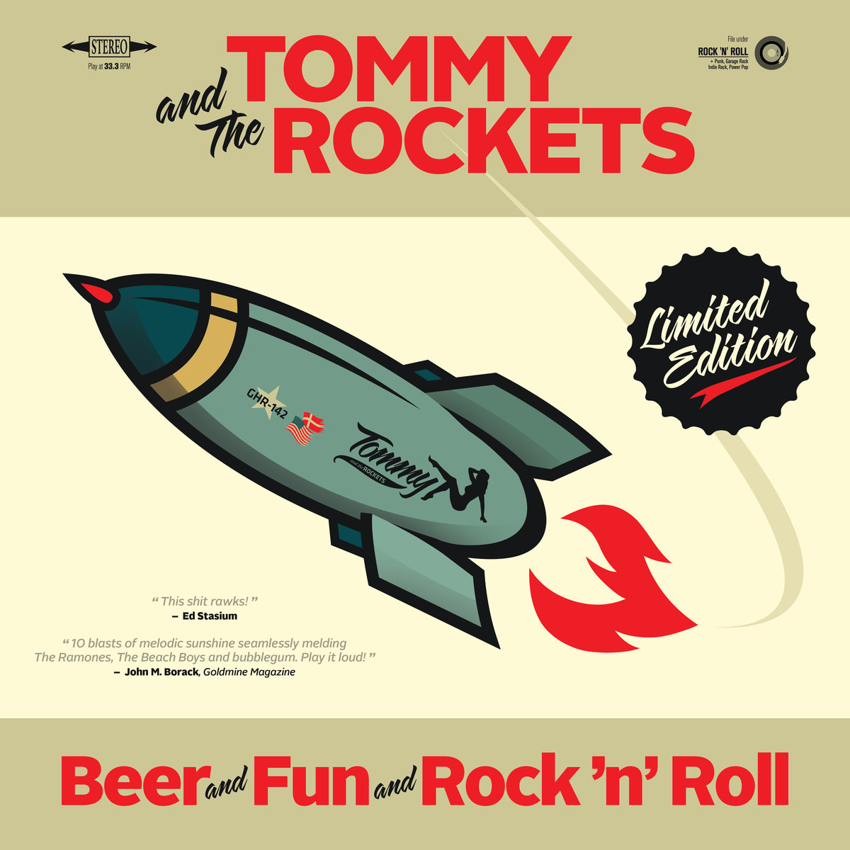 Tommy and the Rockets — Beer and Fun and Rock 'n' Roll