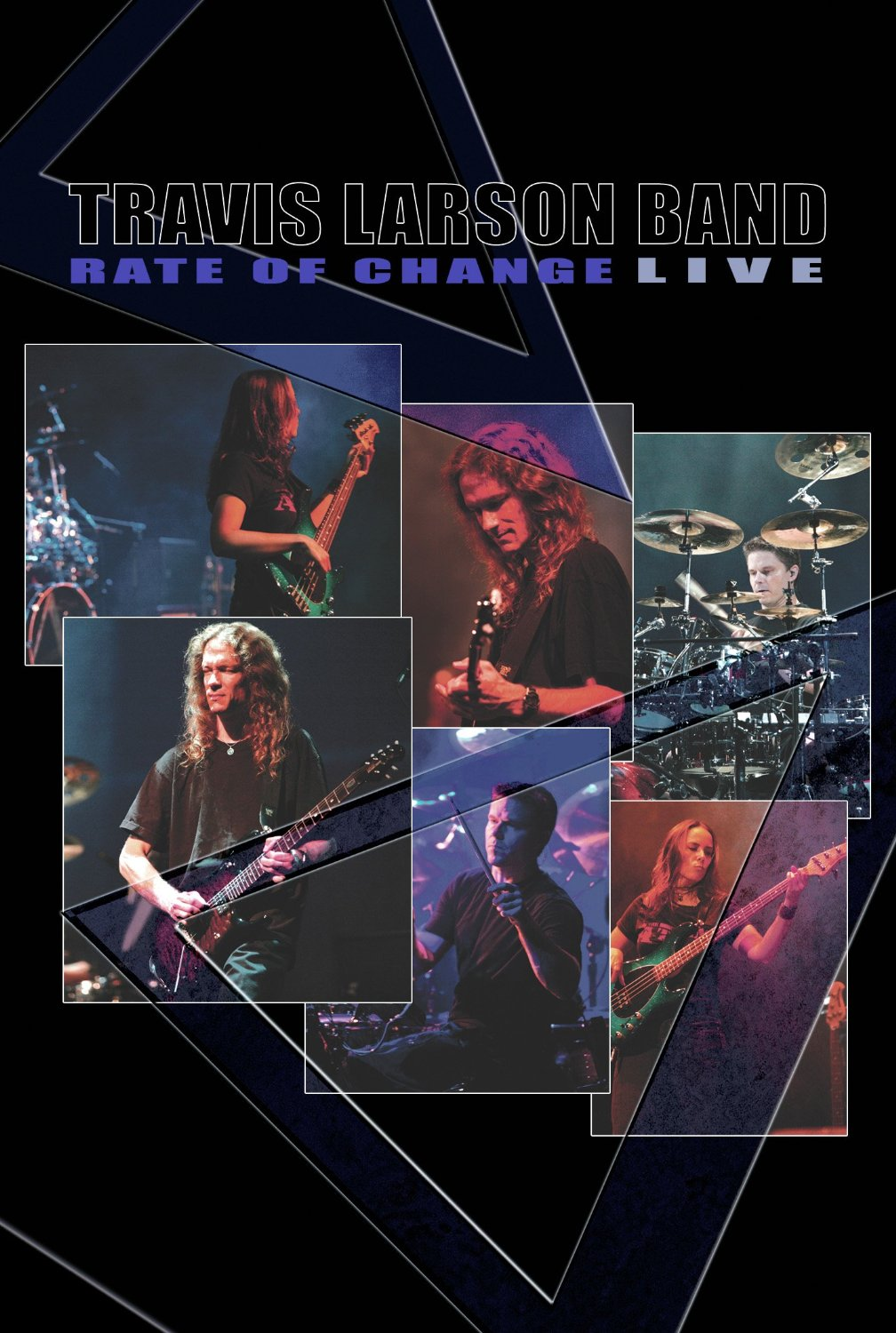Rate of Change - Live DVD Cover art