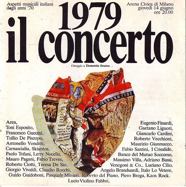 Various Artists — 1979: Il Concerto - Omaggio a Demetrio Stratos