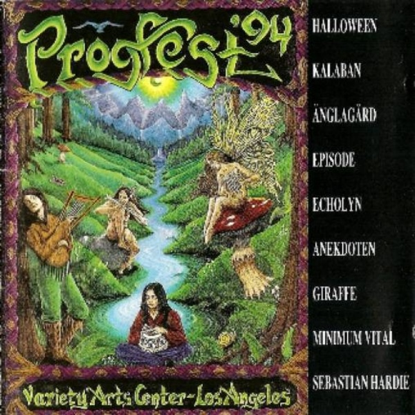 Progfest '94: Variety Arts Center - Los Angeles Cover art