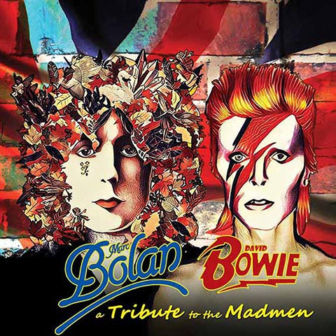 A Tribute to the Madmen (Marc Bolan - David Bowie) Cover art