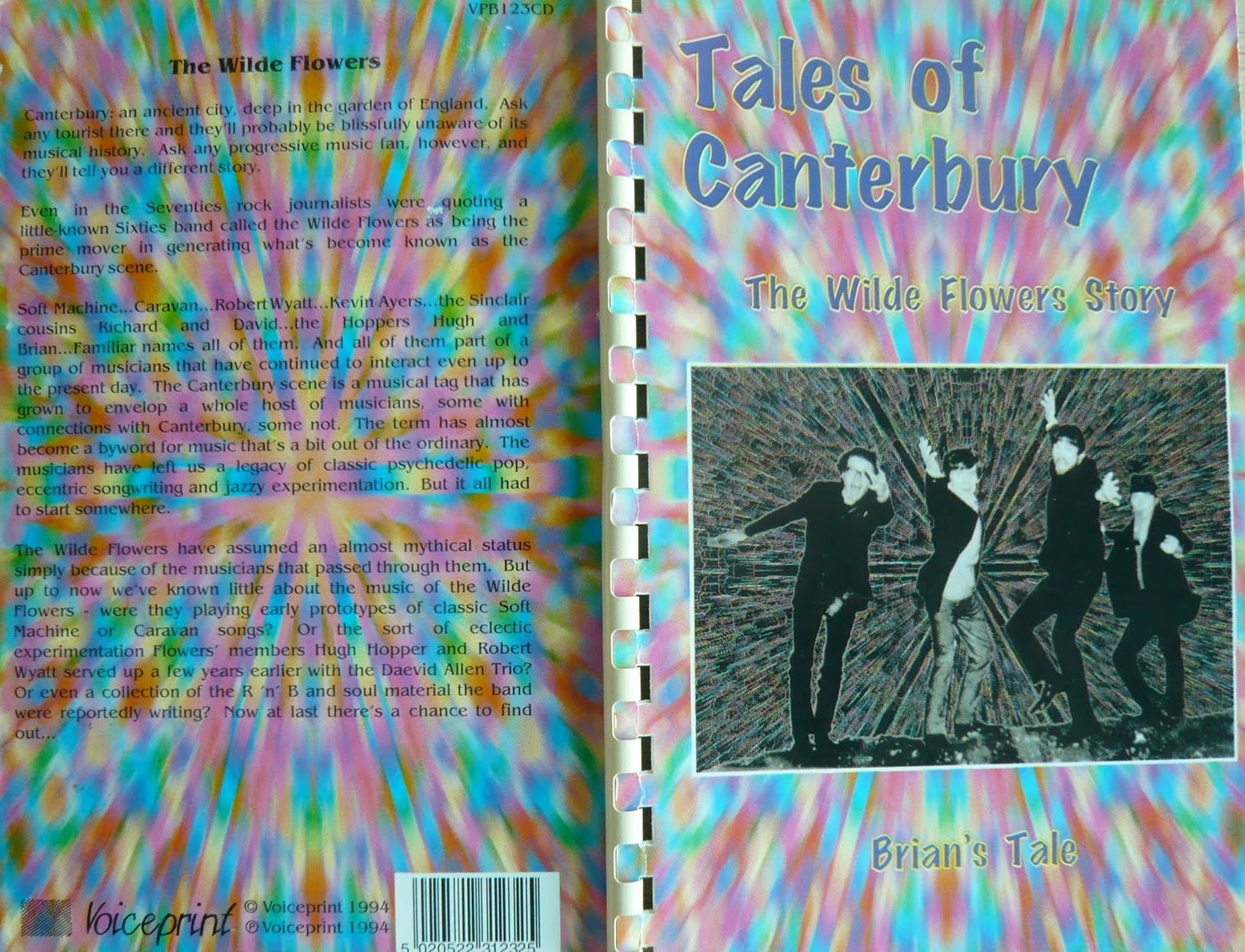 Wilde Flowers — Tales of Canterbury: The Wilde Flowers Story - Brian's Tale