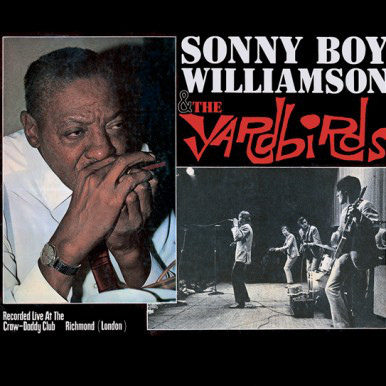 The Yardbirds — Sonny Boy Williamson & The Yardbirds
